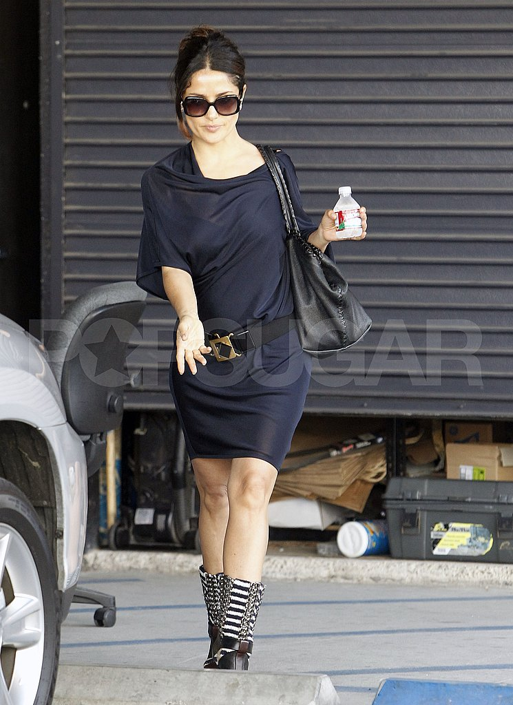 Salma Hayek looking gorgeous in LA.