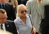 Photos of Lindsay Lohan at Probation Hearing
