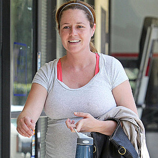 Jenna Fischer Working Out While Pregnant in LA Pictures