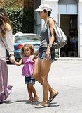 Halle Berry and daughter Nahla Aubry in sunny LA.