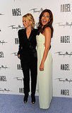Naomi Watts Passes the Thierry Mugler Crown to Eva Mendes