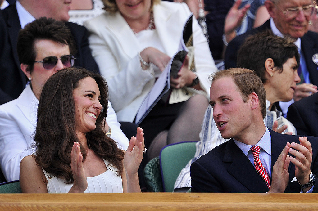 Kate Middleton Sports a Summery Sundress For a Smiley Wimbledon Afternoon With Prince William