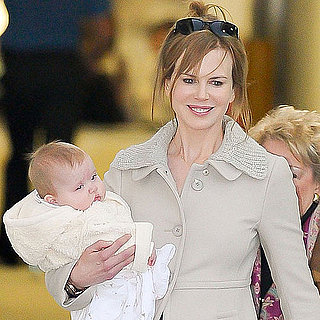 Nicole Kidman With Baby Faith and Sunday Pictures