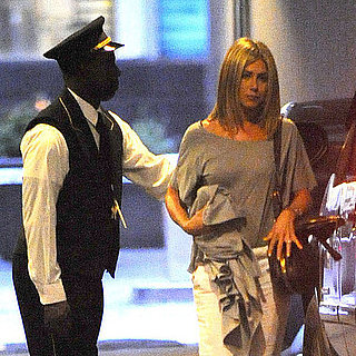 Jennifer Aniston and Justin Theroux Waldorf-Astoria Pictures