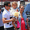 Jessica Alba With Cash Warren and Honor in LA