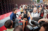 Javier Bardem chatted about his star with the Spanish press.