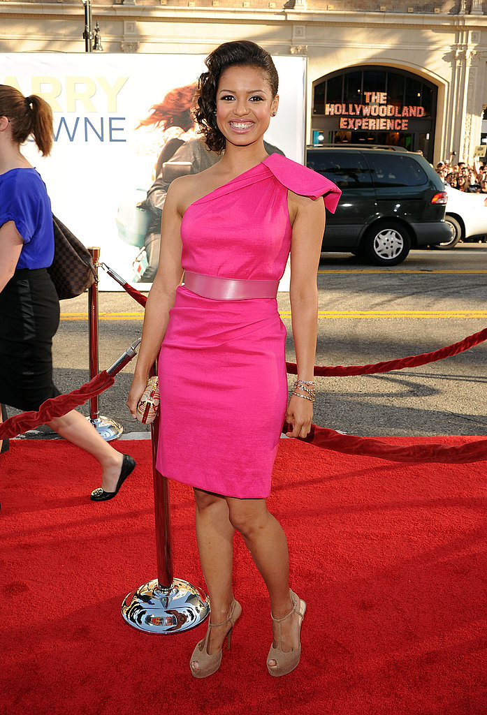 Gugu Mbatha-Raw at the LA premiere of Larry Crowne.
