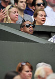 Jay-Z was in the stands at Wimbledon.