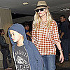 Reese Witherspoon, Ava, Deacon, and Jim Toth at LAX Pictures