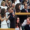 Pictures of Kate Middleton and Prince William at Wimbledon