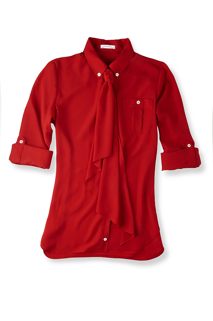 Love ADAM Camp Sleeve Shirt with Tie, $99.90