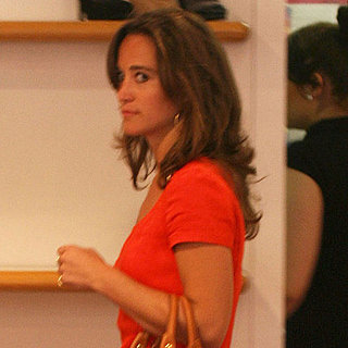 Pippa Middleton Shopping For Shoes in London Pictures