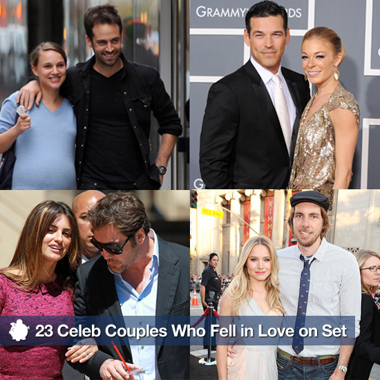 23 Celeb Couples Who Fell in Love on Set