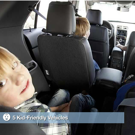 5 Vehicles With Kid-Friendly Features