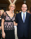 Charlene Wittstock and then-boyfriend Prince Albert strike a pose in 2007.