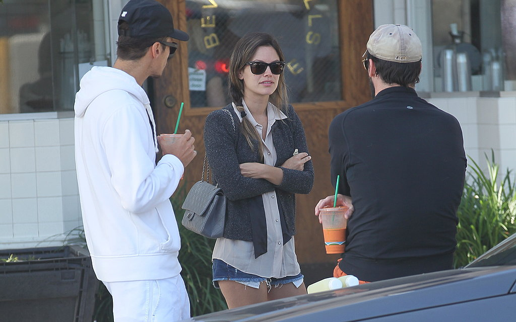 Rachel Bilson, Hayden Christensen, and Jon Hamm Meet Up For Juice