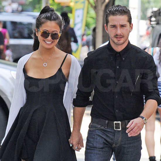 Shia LaBeouf's Kiss-and-Tell Tendency Doesn't Scare Off Smiley GF Karolyn Pho
