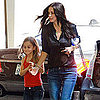 Pictures of Courteney Cox and Coco Arquette Running Errands