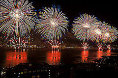 Macy&#039;s Fourth of July Fireworks on the Hudson River