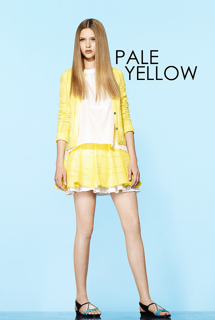 PALE YELLOW Thakoon   See all Thakoon Resort 2012
