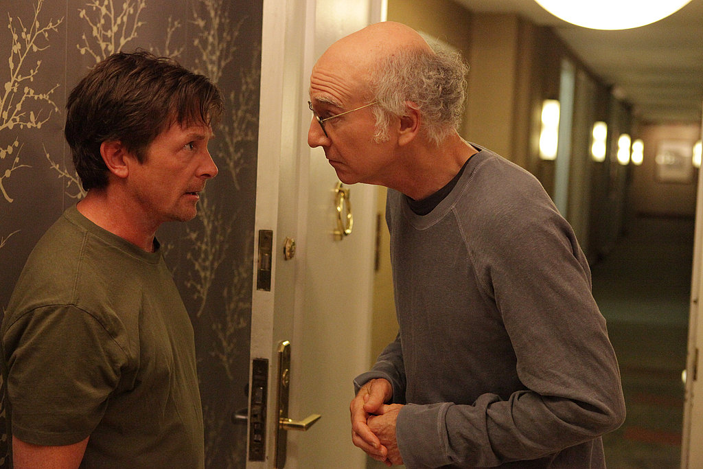 Michael J. Fox and Larry David, Curb Your Enthusiasm season eight.