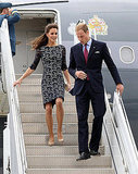 Prince William and Kate Middleton's Ottawa arrival.