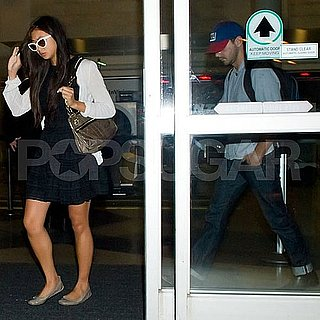 Shia LaBeouf and Girlfriend Karolyn Pho Pictures at LAX