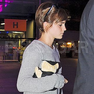 Emma Watson at Heathrow Airport Pictures