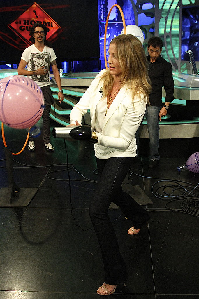 Cameron Diaz was featured on El Hormiguero.