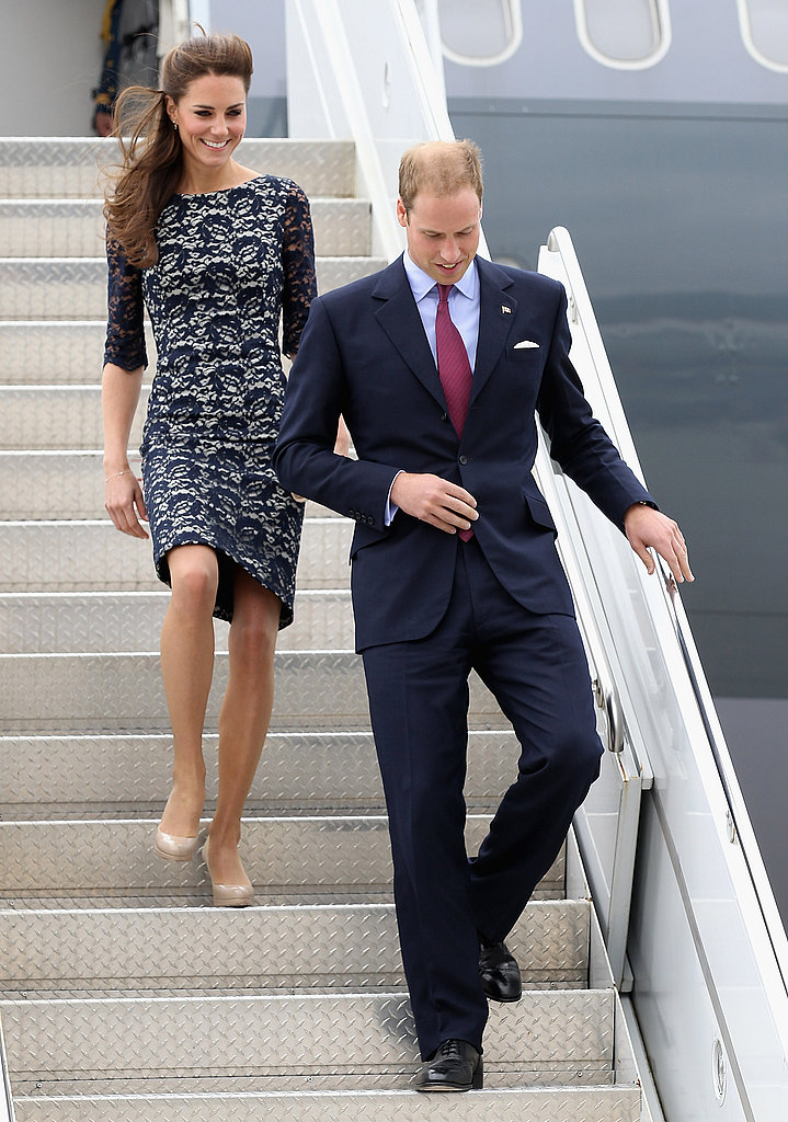 Kate Middleton and Prince William arrived in Ottawa.
