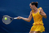 Jelena Jankovic wore a yellow tutu-inspired tennis dress in 2009.