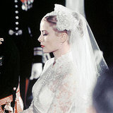 Grace Kelly makes a serene bride.