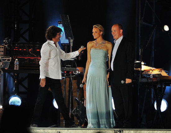 Prince Albert and Charlene Wittstock Celebrate Their Wedding With a Concert