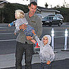 Gavin Rossdale With Kingston and Zuma at The Malibu Inn