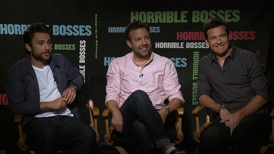 Video: Jason Sudeikis, Jason Bateman, and Charlie Day on Their Horrible Bosses Bond