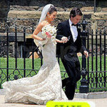 Mila Kunis Wedding Dress Pictures From Set of Ted