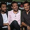 Video Interview With Horrible Bosses Stars Charlie Day, Jason Sudeikis, Jason Bateman on Jennifer Aniston
