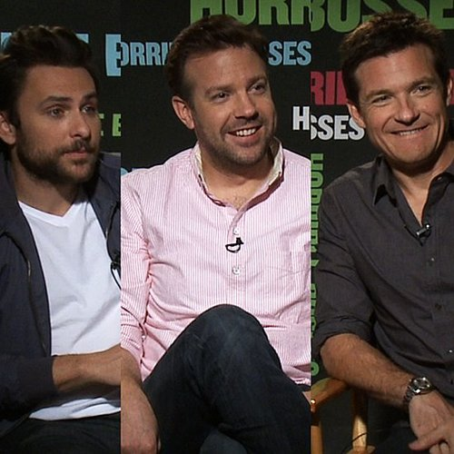 Horrible Bosses' Charlie Day, Jason Sudeikis, Jason Bateman on Jennifer Aniston (Video)