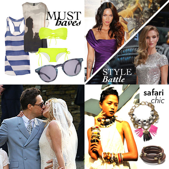 Fab Recap — Kate Moss Weds, Kate Middleton Takes North America, July Must Haves, and More!