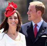 Prince William and Kate Middleon are having a ball on Canada Day.