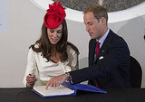 Kate Middleton and Prince William attend a citizenship ceremony on Canada Day.