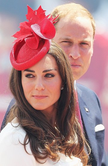 Kate Middleton and Prince William look fierce on Canada Day.