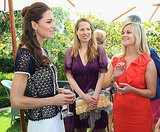 Kate Middleton and Reese Witherspoon at the Tusk Trust reception in Beverly Hills.