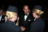 Prince William at BAFTA Brits to Watch dinner.
