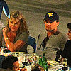 Leonardo DiCaprio and His Mom in Italy