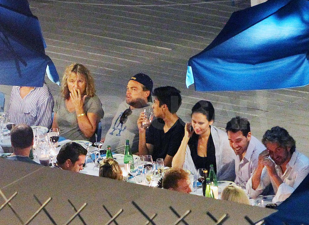 Leonardo DiCaprio Dines Out in Italy With His Mom and a Famous Friend