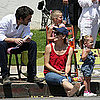 Jennifer Garner, Ben Affleck, Violet, and Seraphina Pictures
