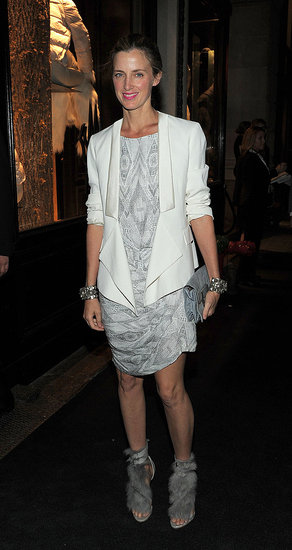 Amanda Brooks wore a Fenton Fallon pair during New York Fashion Week in September 2010. Amanda was spotted recently in Paris wearing the same pair.