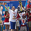Joey Chestnut Wins 5th Hot Dog Eating Contest