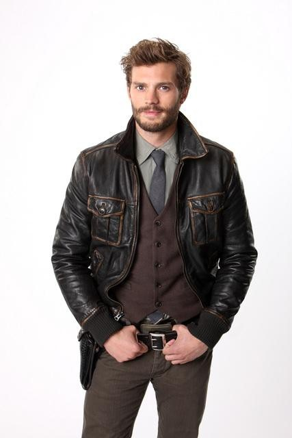 Jamie Dornan as Sheriff Graham on ABC's Once Upon a Time.  Photo copyright 2011 ABC, Inc.